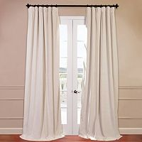 EFF Signature Velvet Blackout Window Curtain