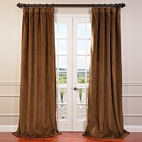 EFF Signature Velvet Blackout Curtain
