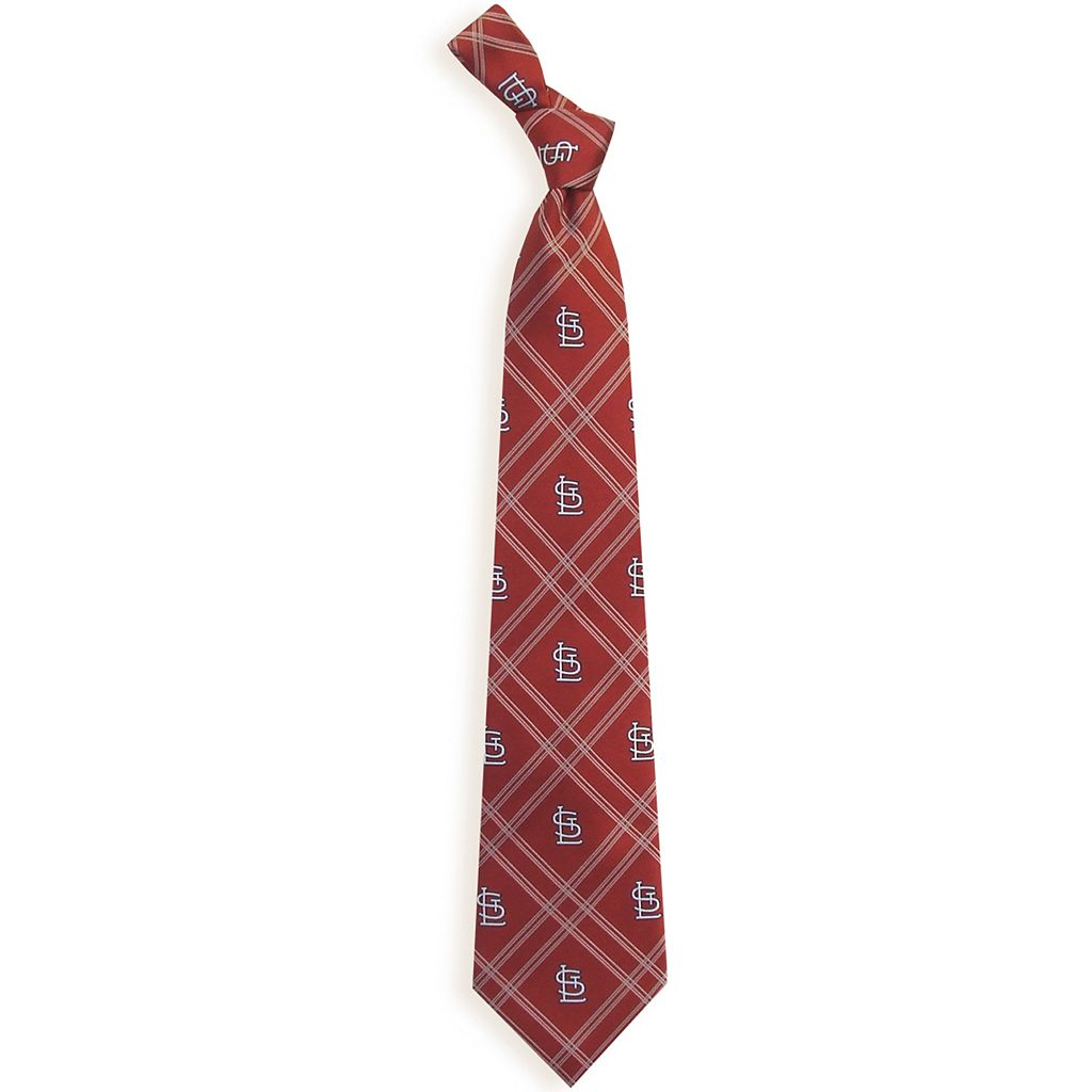 Adult MLB Plaid Tie