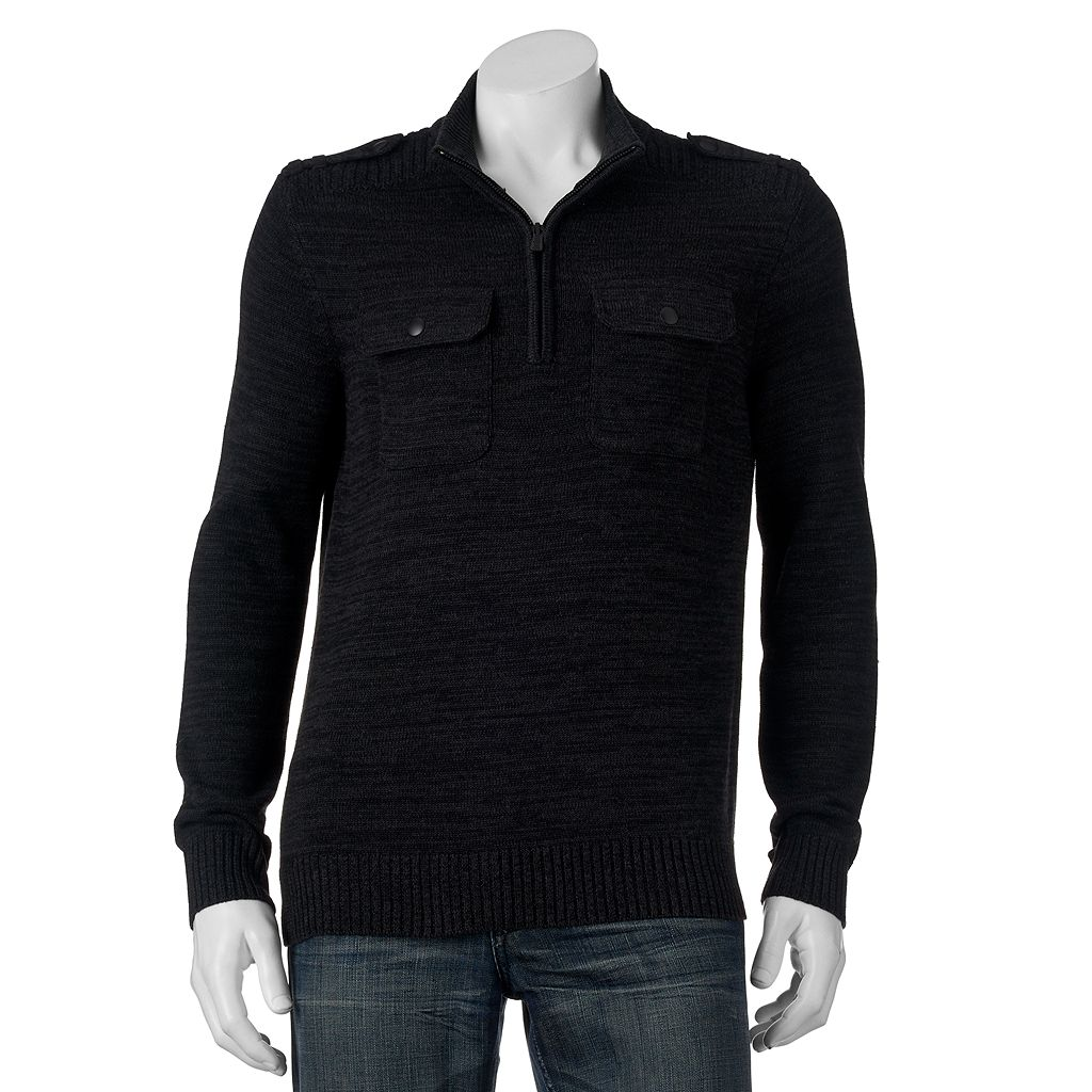 Men's Apt. 9® Modern-Fit Mockneck Quarter-Zip Sweater