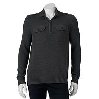 Men's Apt. 9® Modern-Fit Mockneck Quarter-Zip Sweater