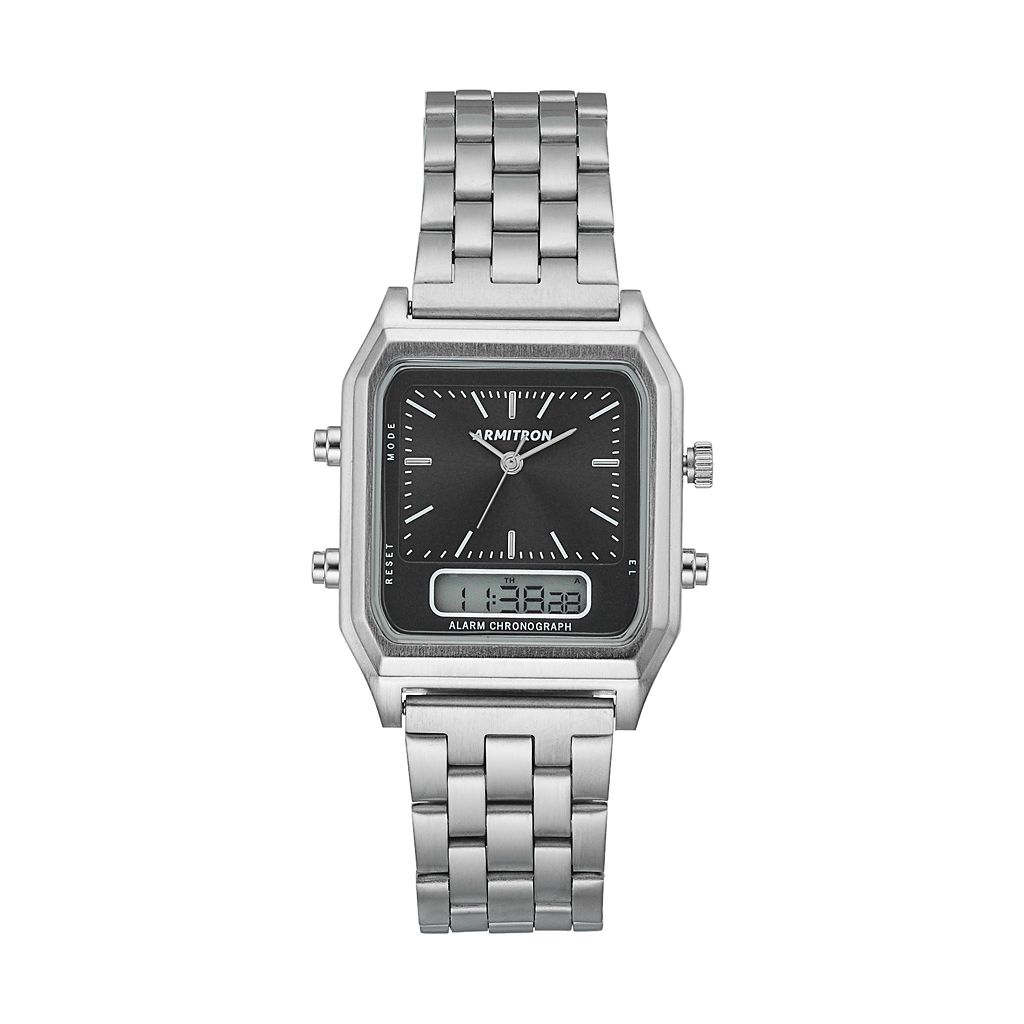 Armitron Men's Analog-Digital Watch - 20/5124BKSV