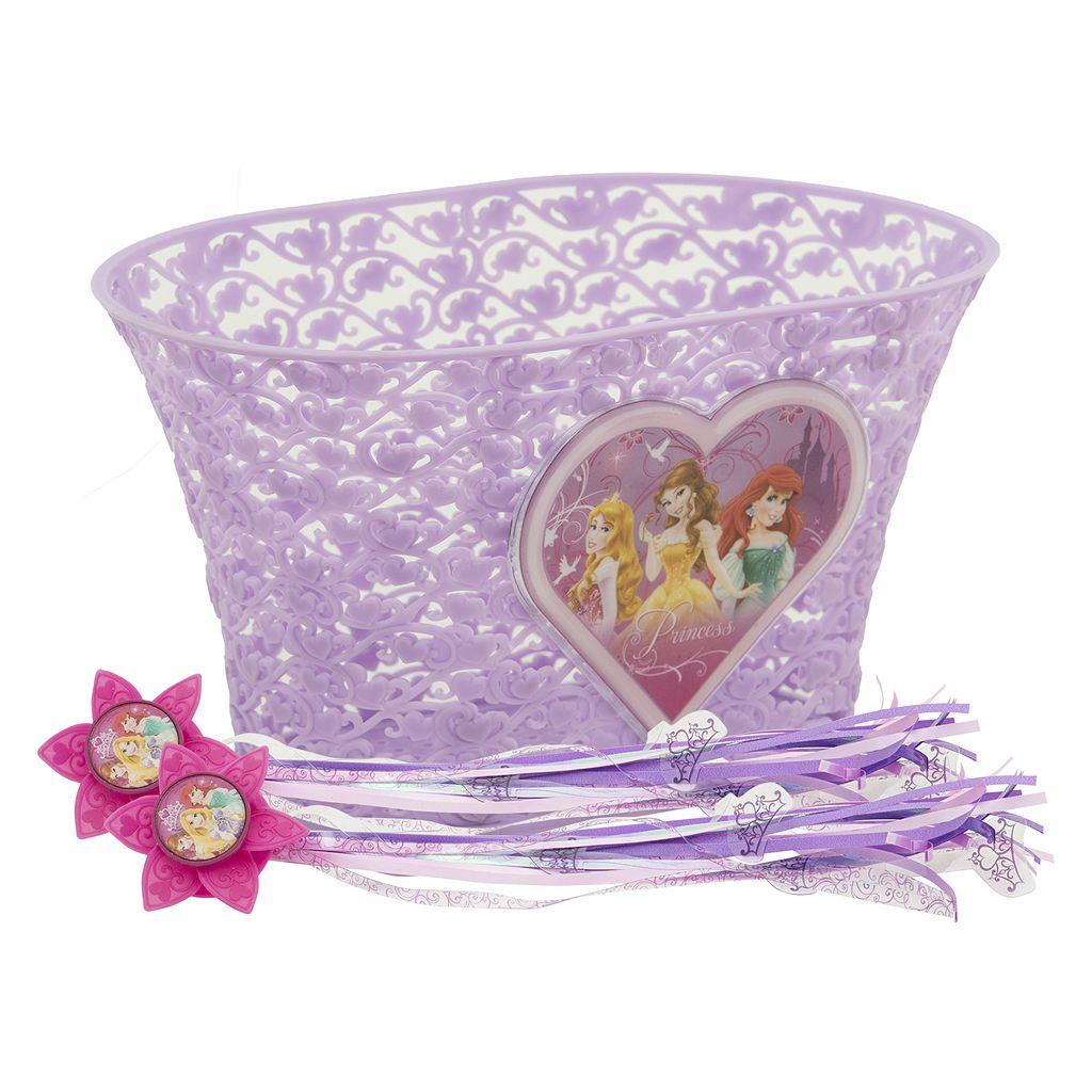 Disney Princess Girls Bike Basket & Streamers Set by Bell