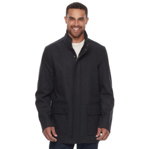 Men's Dockers Wool-Blend Stadium Jacket