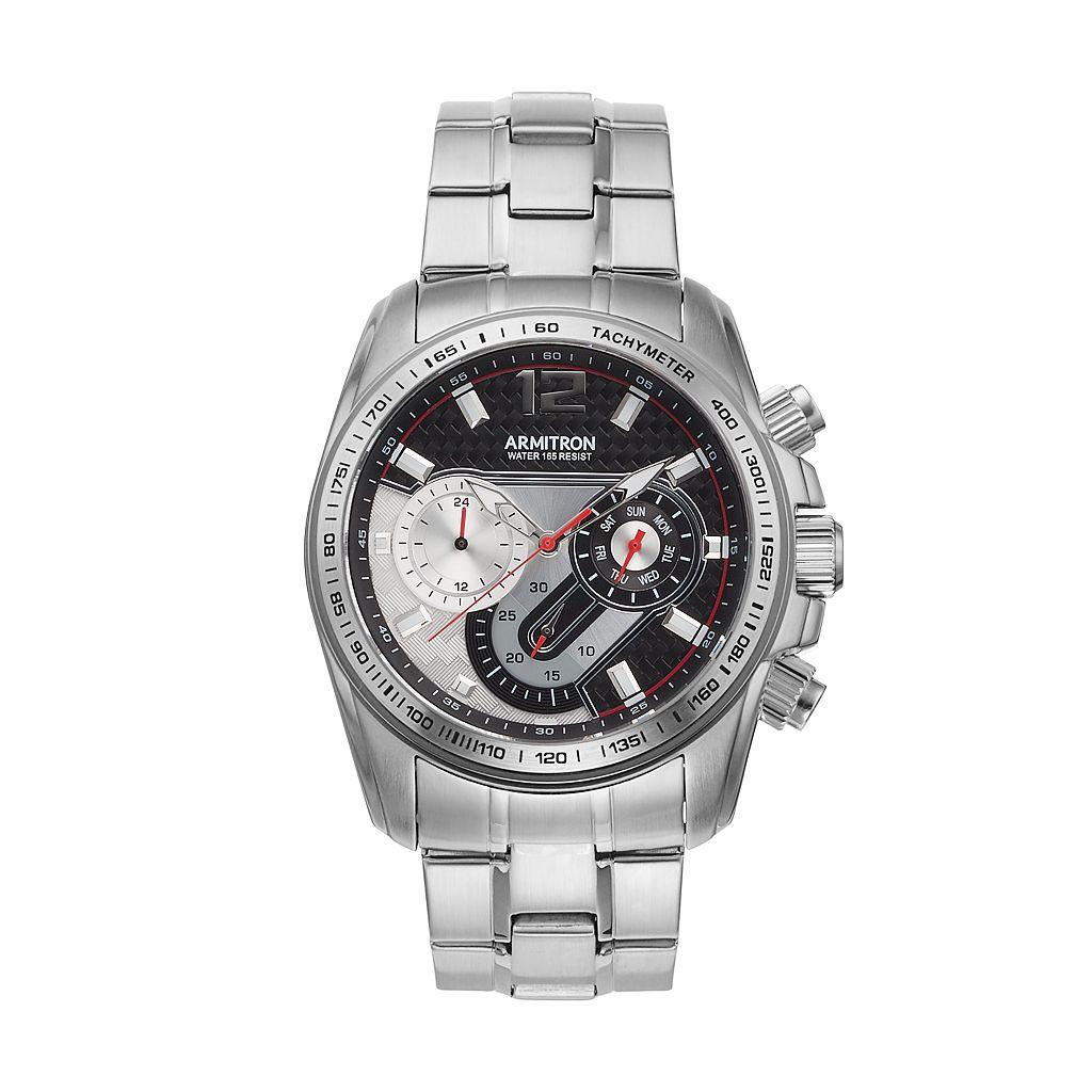Armitron Men's Watch - 20/5149BKSV