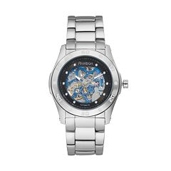 Armitron Men's Stainless Steel Automatic Skeleton Watch - 20/4406BISV