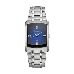 Armitron Men's Crystal Stainless Steel Watch - 20/4507DBSV