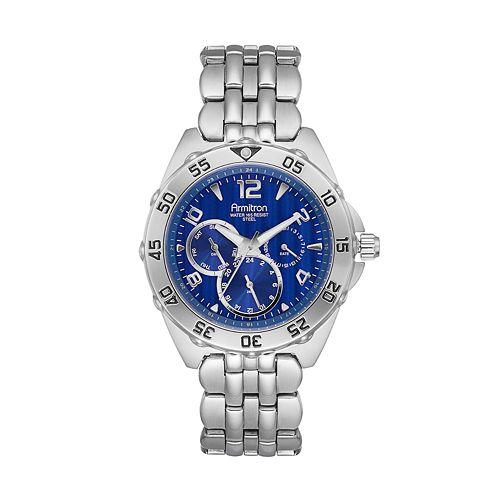 Armitron Men's Stainless Steel Watch - 20/4664BLSV