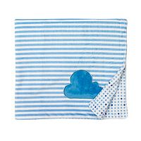 giggle Printed Reversible Velboa Plush Blanket