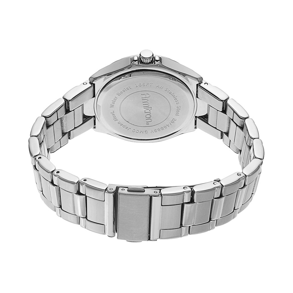 Armitron Men's Stainless Steel Watch - 20/4686BLSV