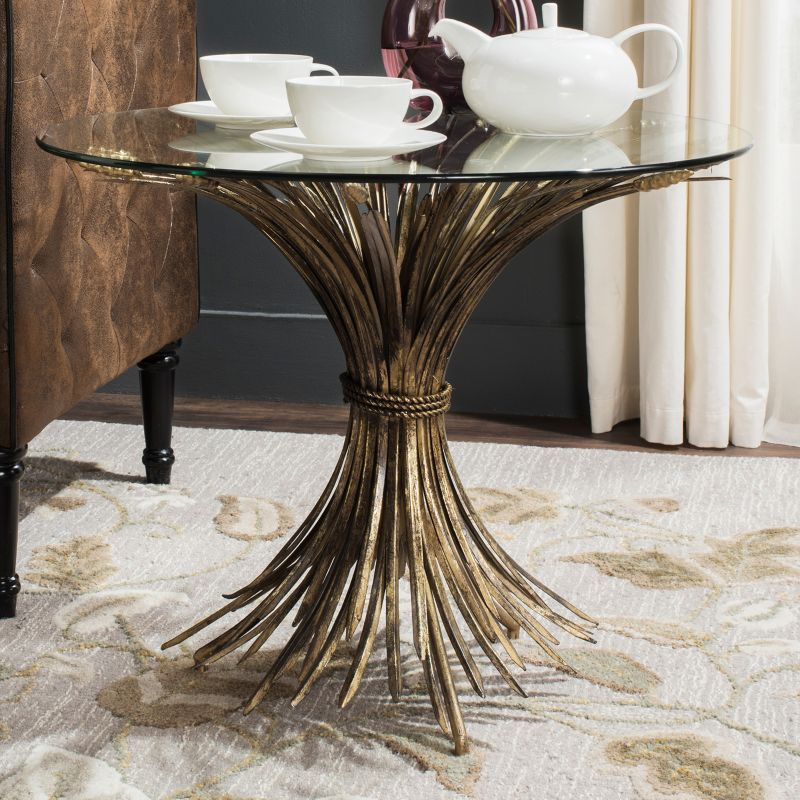 Safavieh Ayris End Table, Gold
