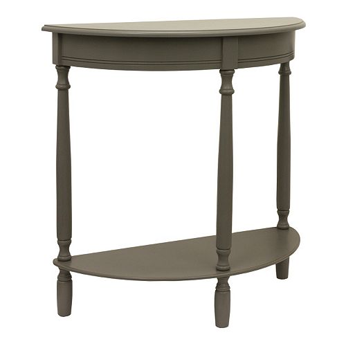 Decor Therapy Eased Edge Entryway Table