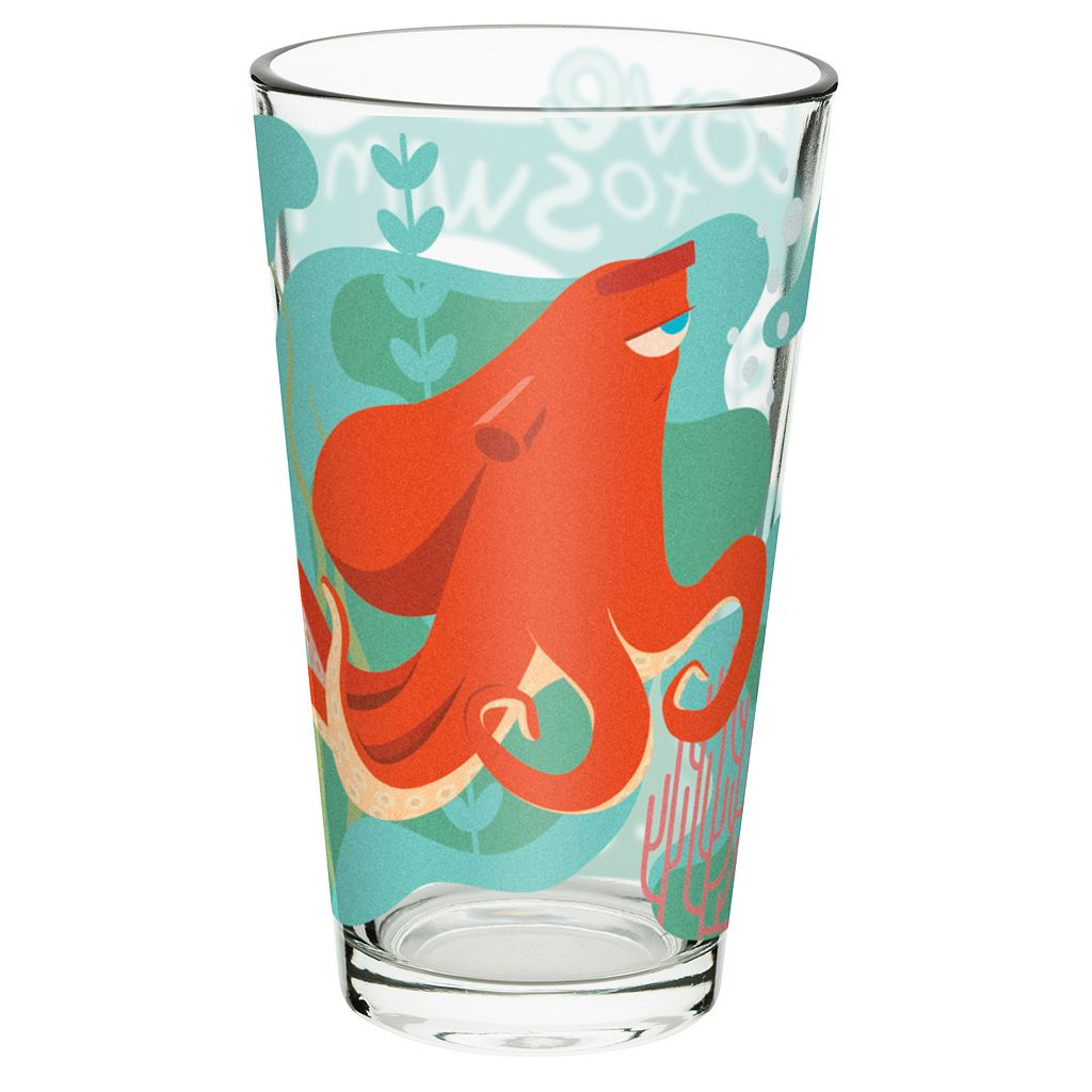 Disney / Pixar Finding Dory 4-pc. 16-oz. Glass Tumbler Set by Zak Designs