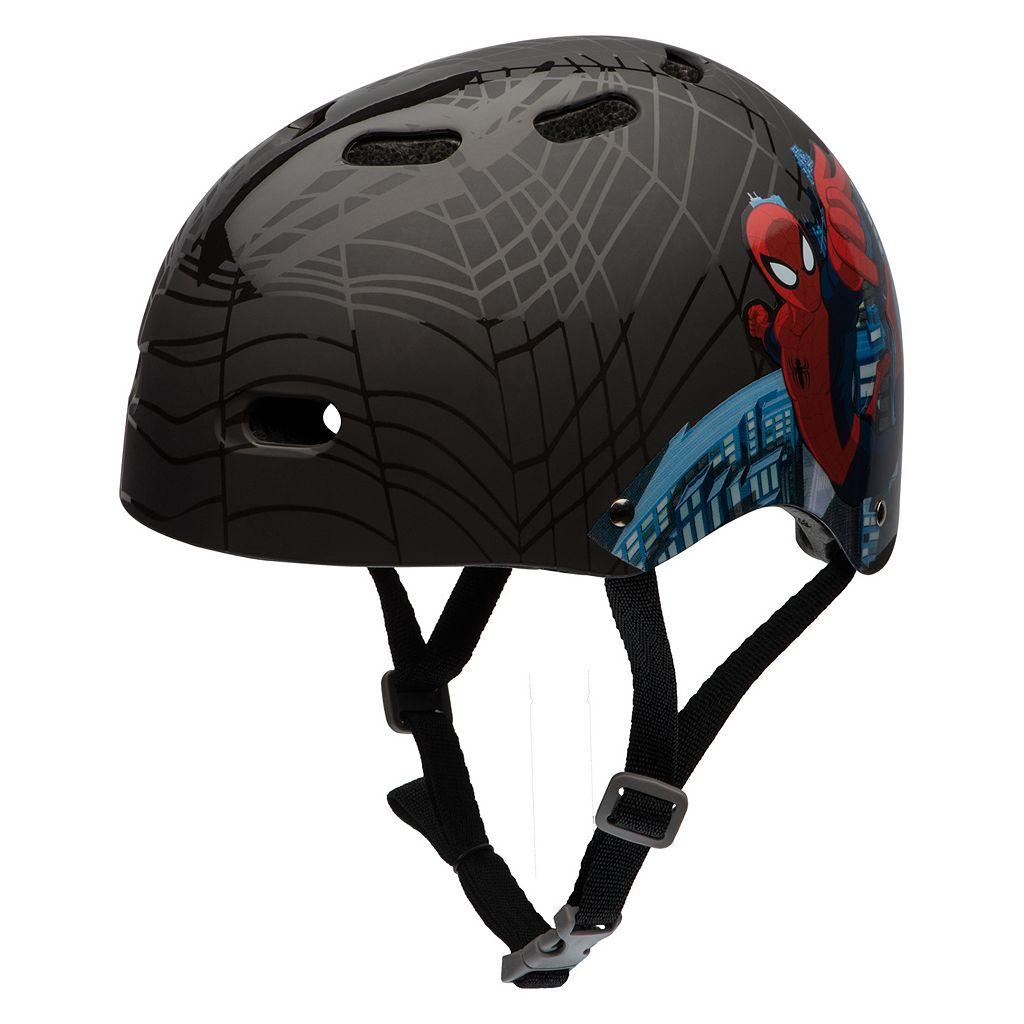 Boys Bell Marvel Spider-Man Black Web Helmet