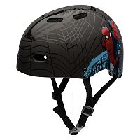 Boys Bell Marvel Spider-Man Black Web Helmet