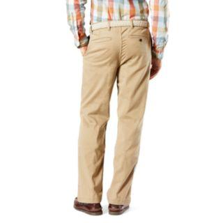 Men's Dockers D3 Classic-Fit Washed Khaki Flat-Front Pants
