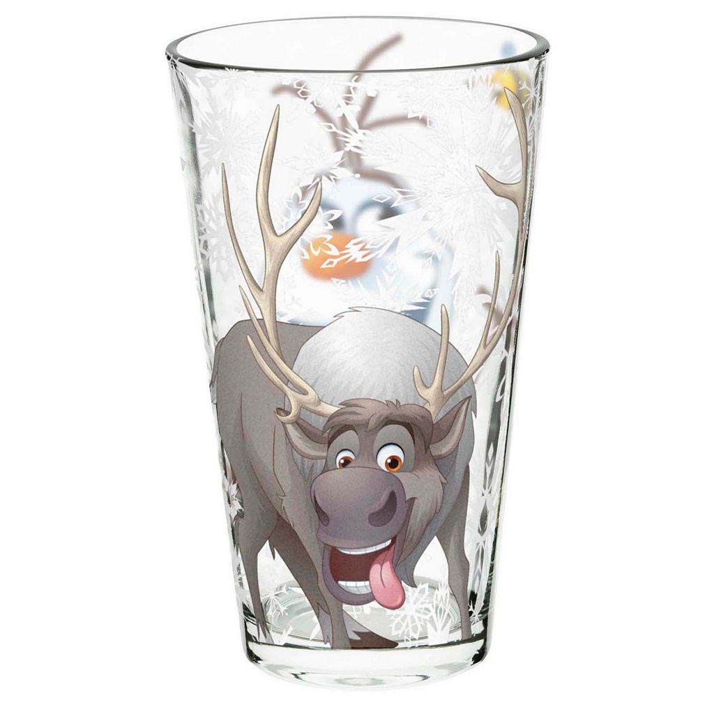 Disney's Frozen 4-pc. 16-oz. Glass Tumbler Set by Zak Designs