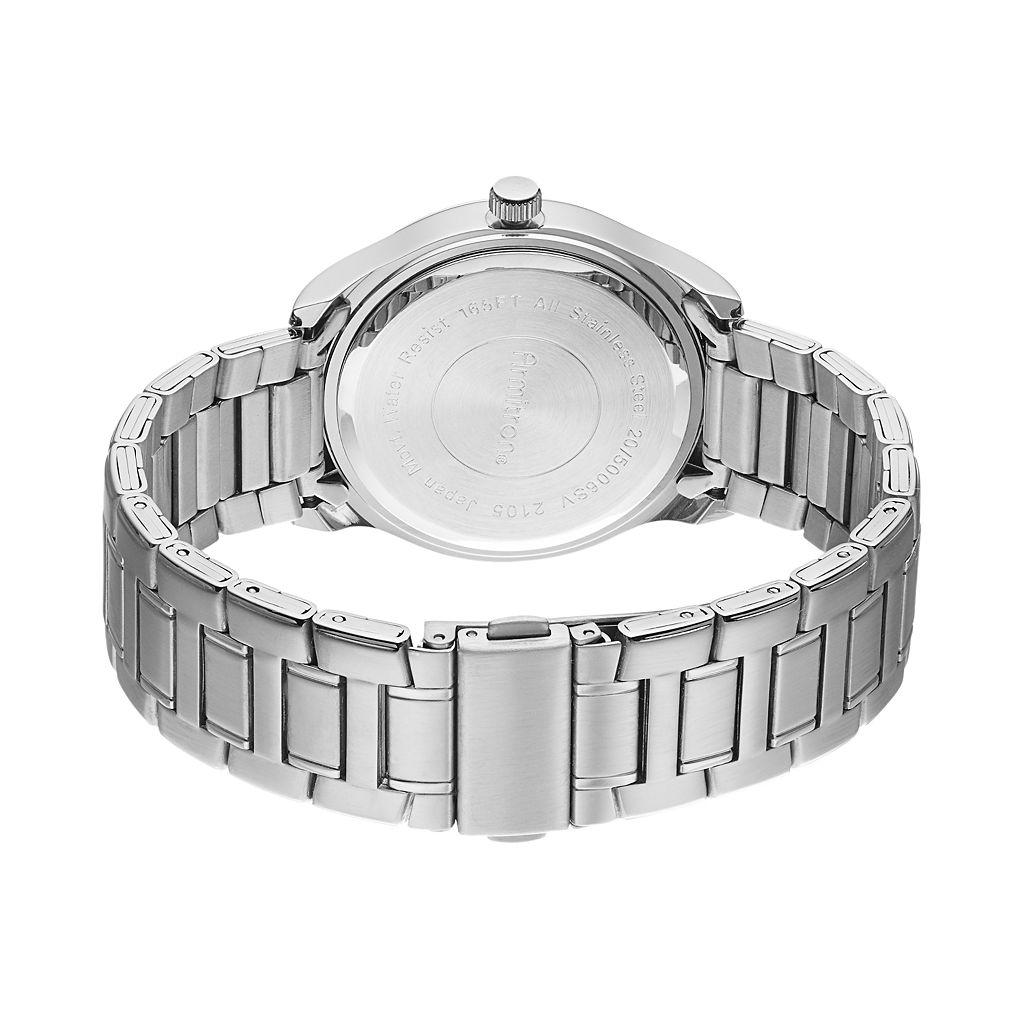 Armitron Men's Stainless Steel Watch - 20/4935SVTT