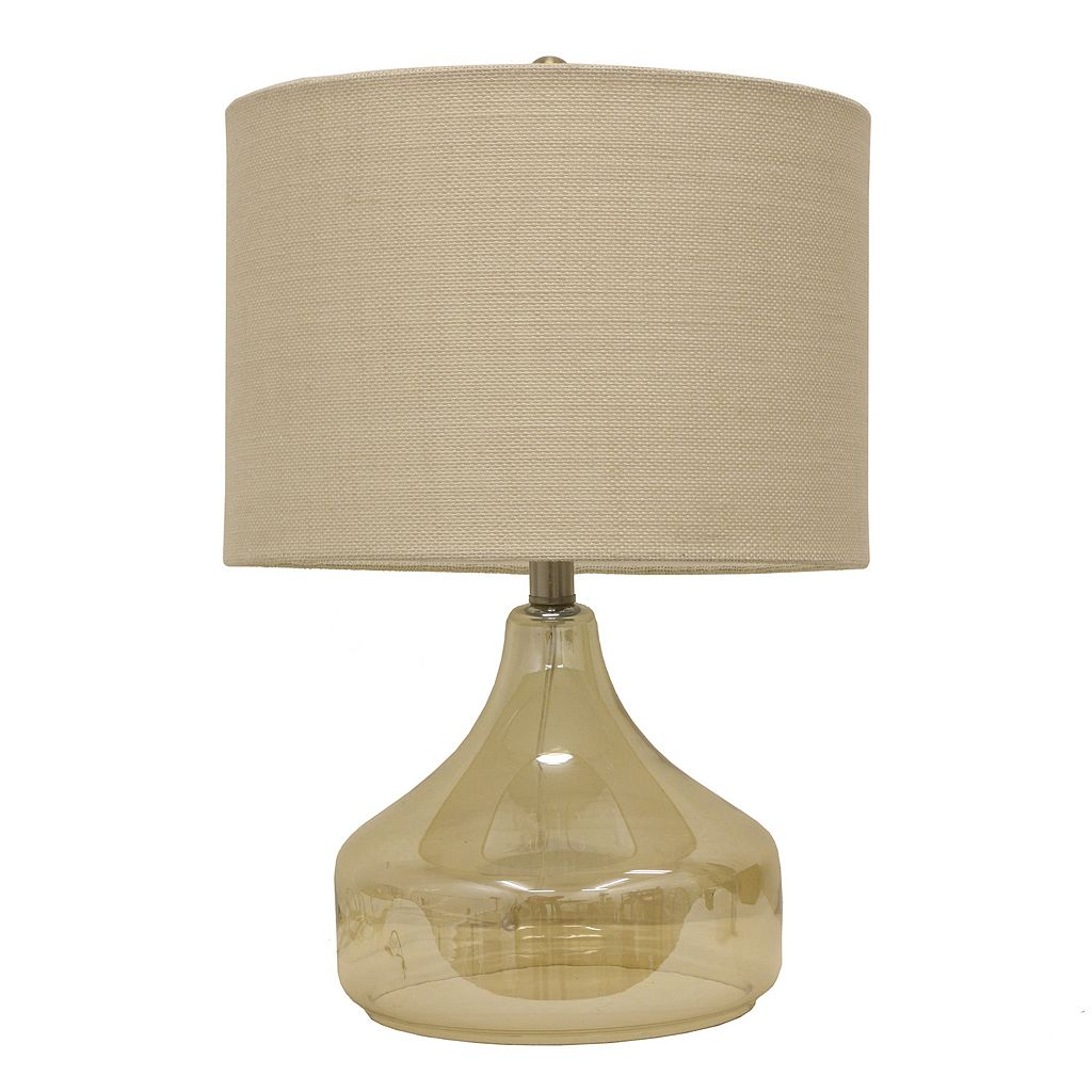 Decor Therapy Modern Luster Glass Table Lamp