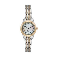 Armitron Women's Two Tone Watch - 75/5072MPTT