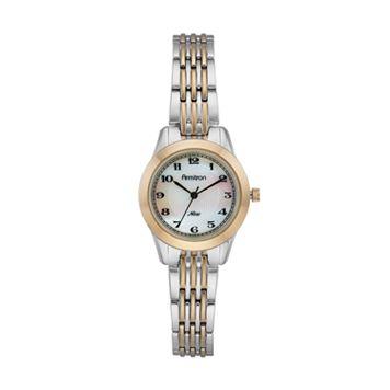 Armitron Women's Two Tone Watch - 75/5072MPTT