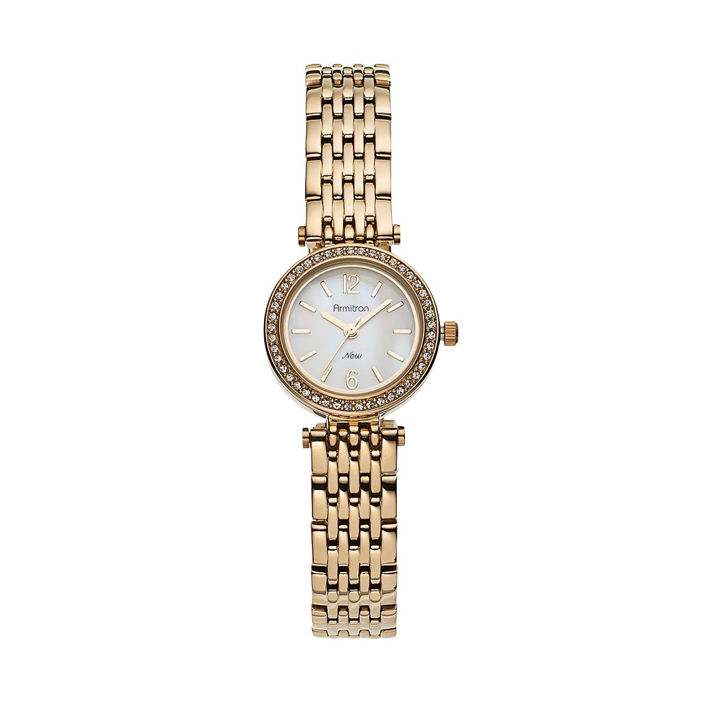 Armitron Women's Crystal Watch - 75/5229MPGP