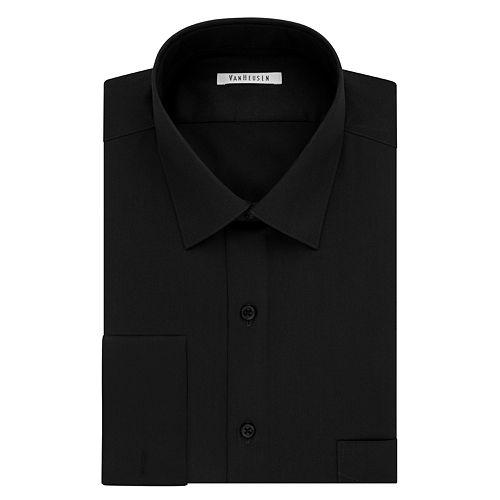 Men's Van Heusen Regular-Fit French Cuff Spread-Collar Dress Shirt