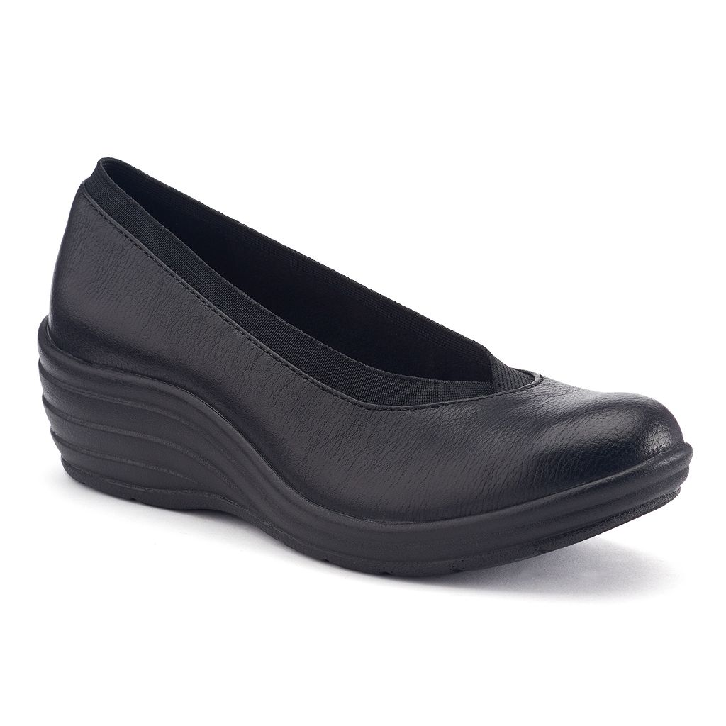 Croft & Barrow® Women's Slip-On Wedges