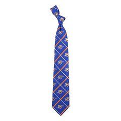 Adult NBA Silver Line Silk Tie