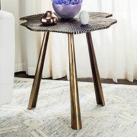 Safavieh Portia Leaf End Table