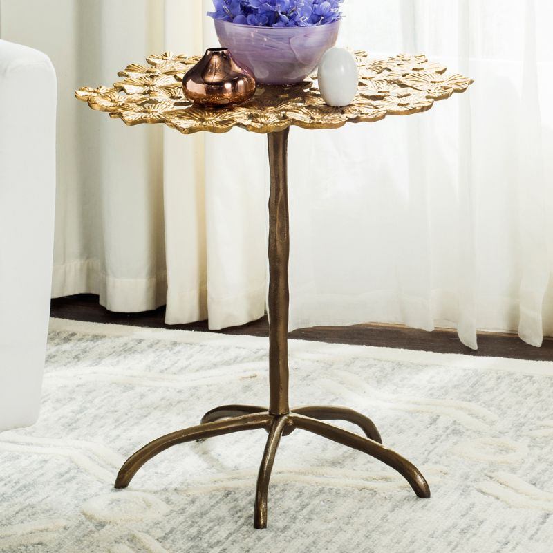 Safavieh Daisy End Table, Gold