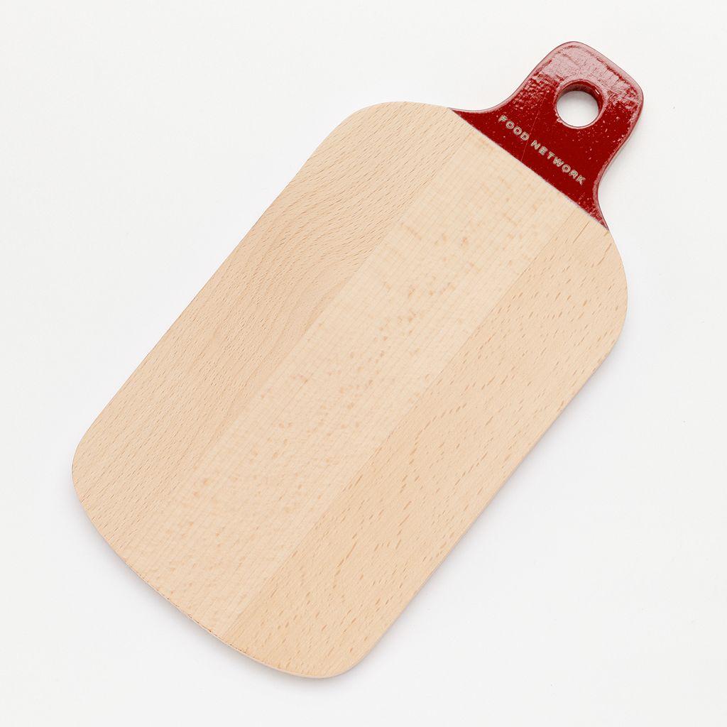 Food Network™ Rubberwood Paddle Cutting Board