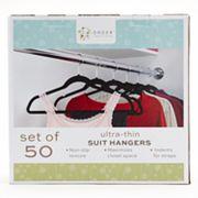 Cohesion 50 pkFlocked Suit Hangers