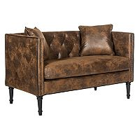 Safavieh Sarah Tufted Settee Loveseat