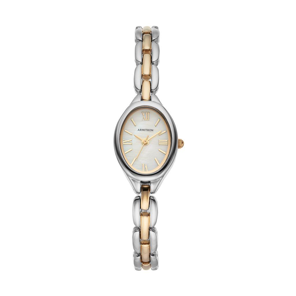 Armitron Women's Two Tone Watch - 75/5344MPTT