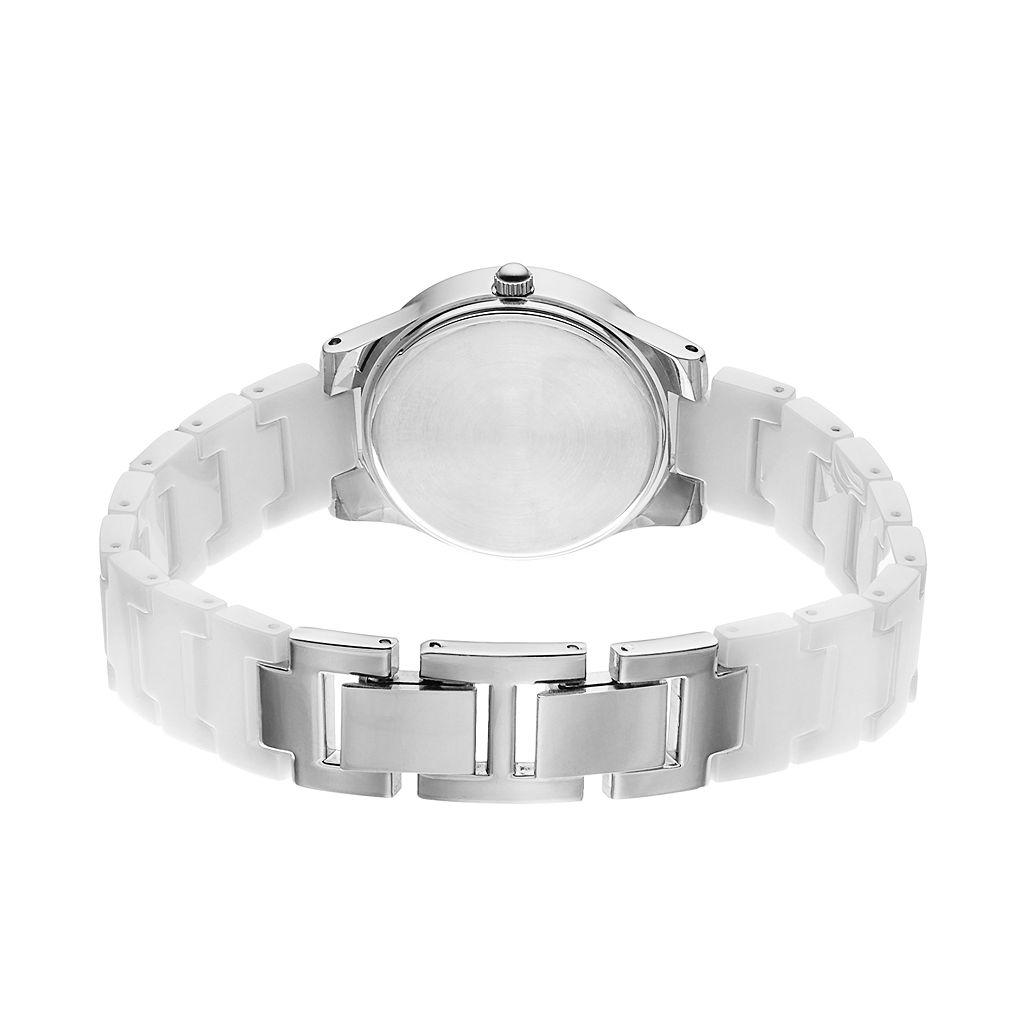 Armitron Women's Diamond Ceramic Watch - 75/5348WTSV
