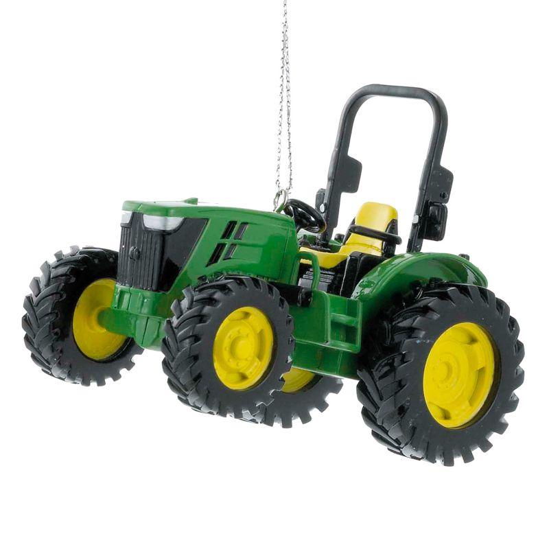 John Deere Utility Tractor Christmas Ornament, Multicolor