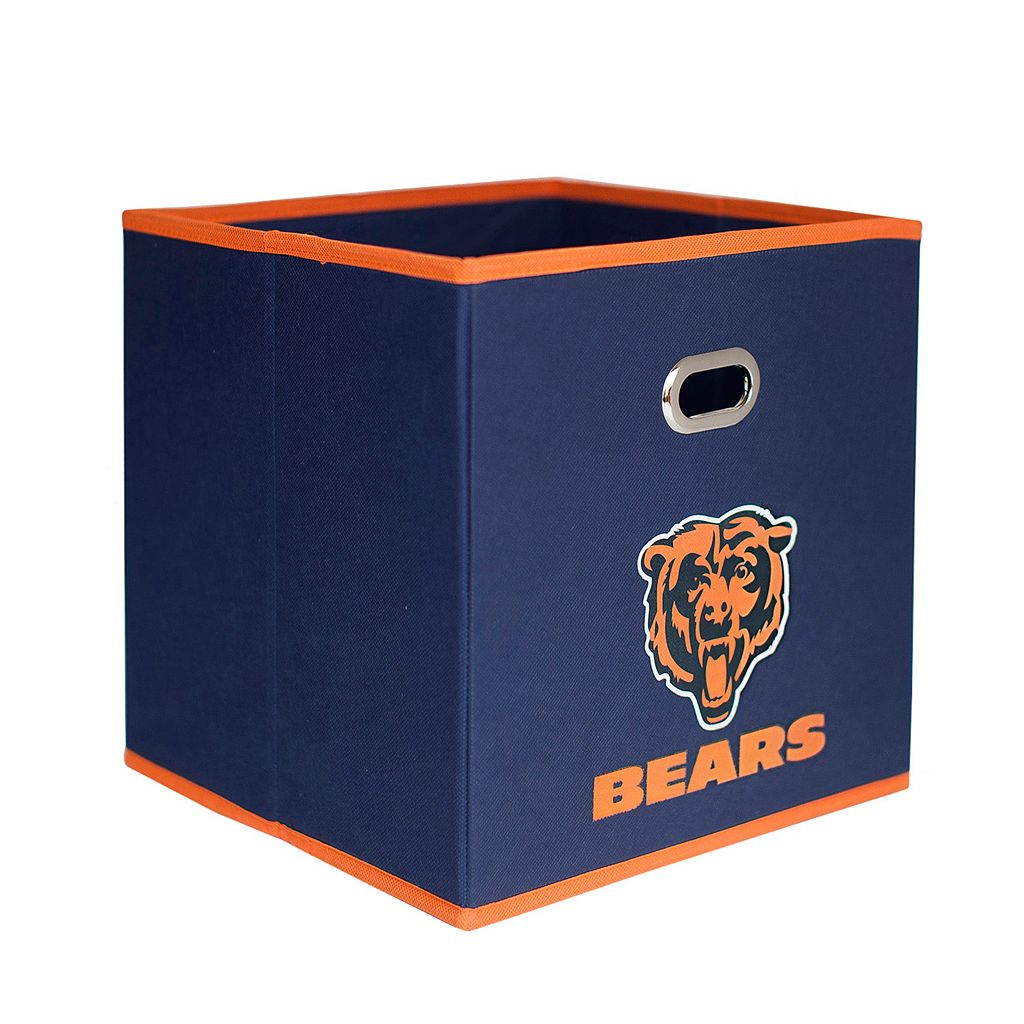 Chicago Bears 3-Pack Storeits Fabric Storage Drawers