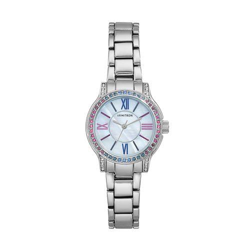 Armitron Women's Crystal Watch - 75/5371MPSVBL