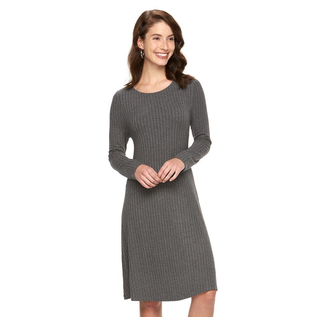 Women's Apt. 9® Ribbed Shift Dress