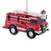 Tonka Fire Truck Christmas Ornament