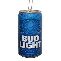 Bud Light Can Christmas Ornament