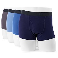 Men's Fruit of the Loom Signature 4-pack Breathable Short-Leg Boxer Briefs