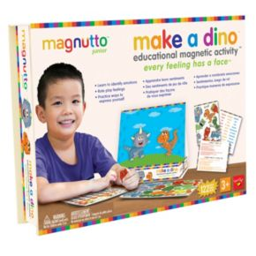 Neat-Oh! Magnutto Make a Dino Educational Magnetic Activity Kit