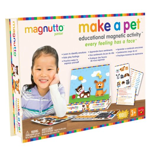 Neat-Oh! Magnutto Make a Pet Educational Magnetic Activity Kit