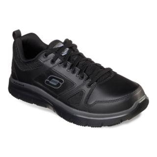 Skechers Relaxed Fit Flex Advantage Men's Slip-Resistant Work Shoes