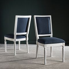 Safavieh Buchanan Navy Dining Chair 2-piece Set