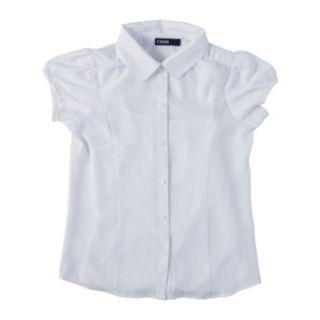 Girls 7-16 Chaps School Uniform Blouse & Camisole Set