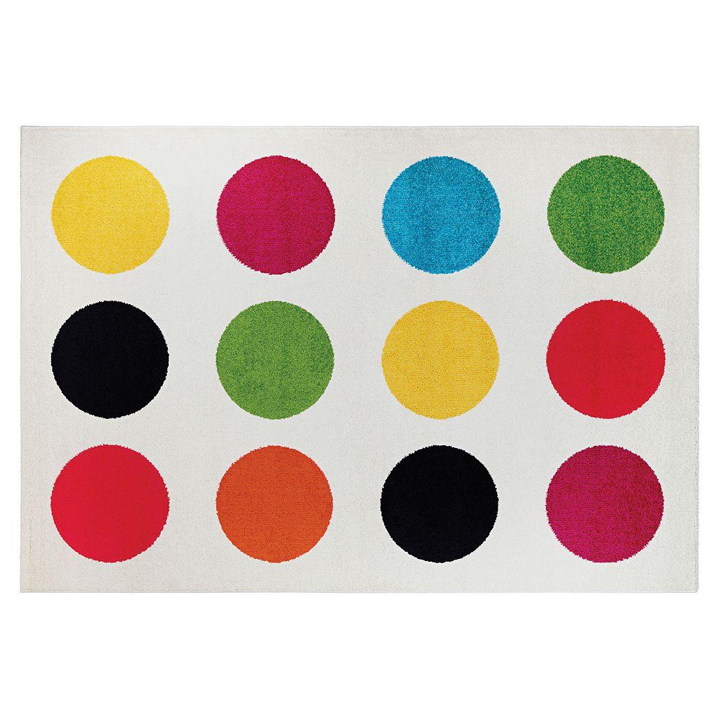 Couristan Spectrum Polka Geometric Rug