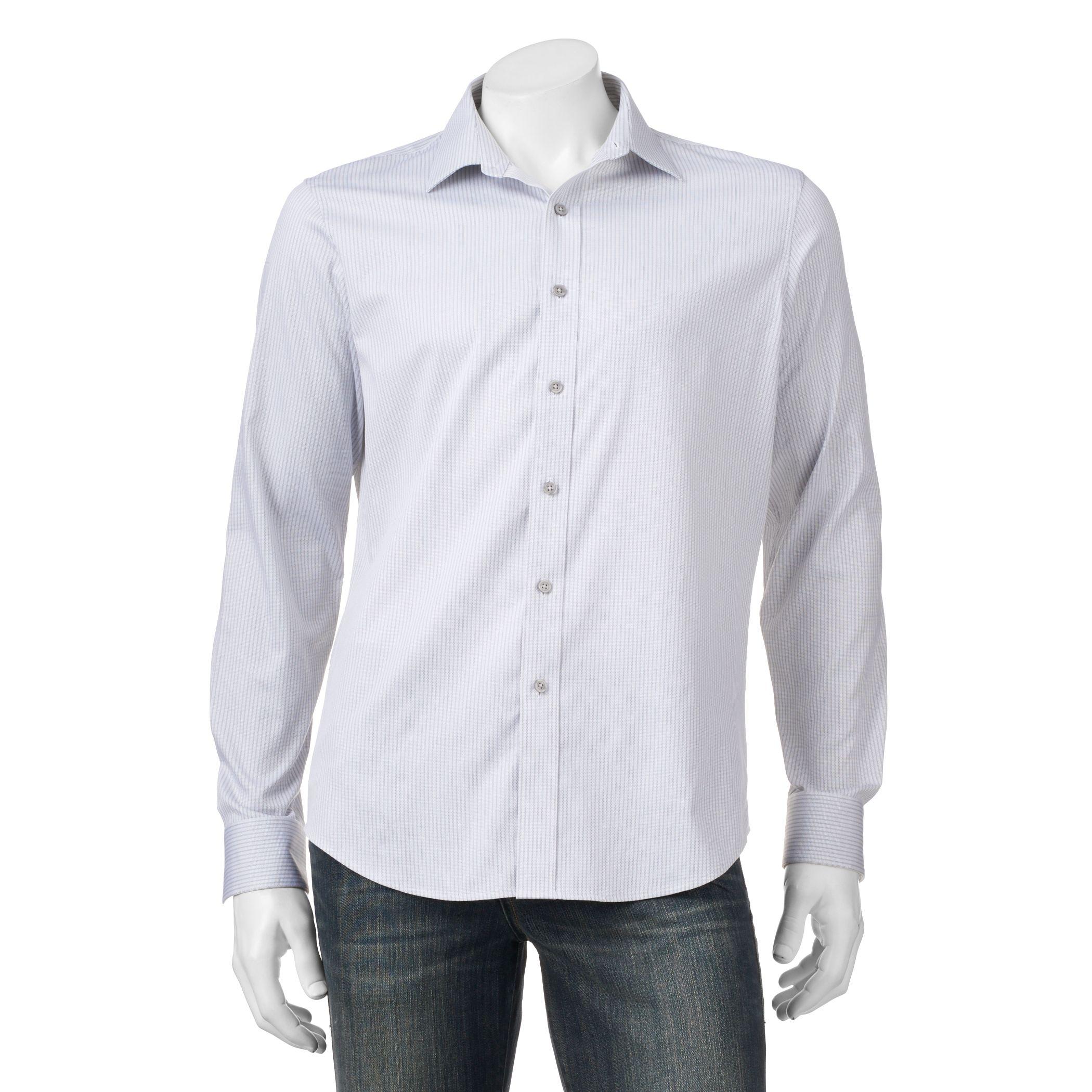 White Button Down Shirt Mens